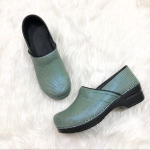 SANITA danish clog green